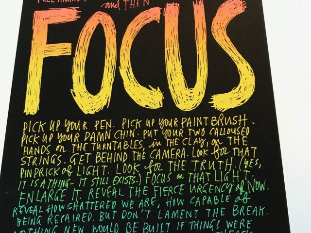 Focus!