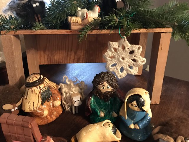 Crafting, Nativity and Comfort
