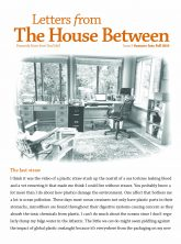 House Between Summer into Fall 2019 COVER for Margie